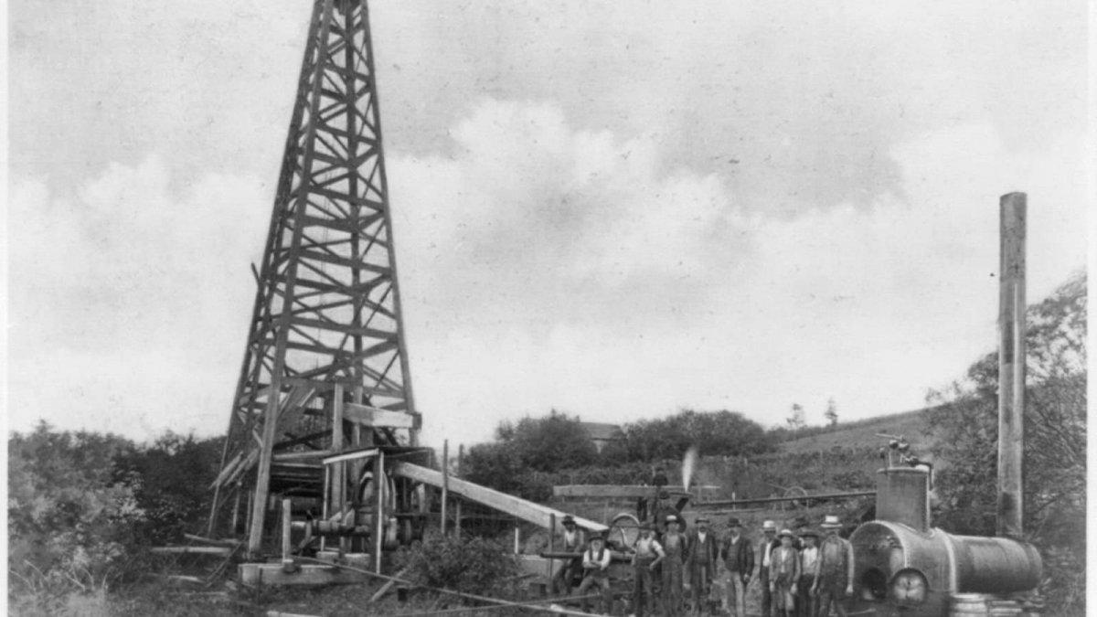 El primer pozo de petróleo: la locura que creó el mayor negocio del mundo