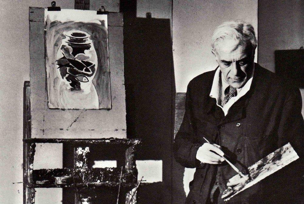 Georges Braque, artista considerado el cofundador del cubismo