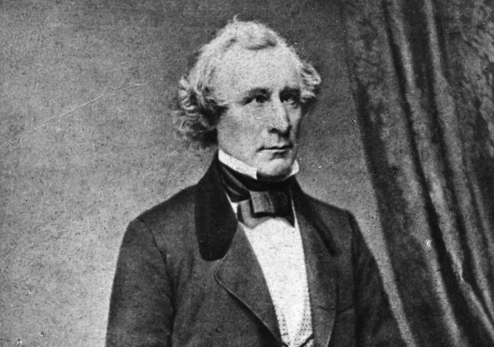 El excéntrico James Gordon Bennett inventó los periódicos modernos en la década de 1830