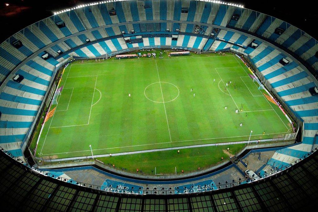 El Estadio Presidente Perón