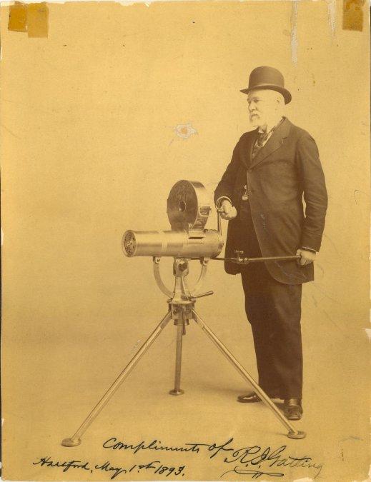 Richard J. Gatling: El médico que inventó la ametralladora