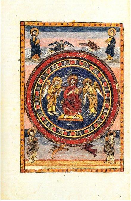 Codex Amiatinus Maiestas Domini