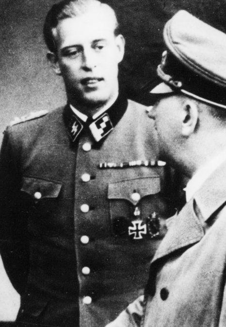 Otto Günsche y Hitler