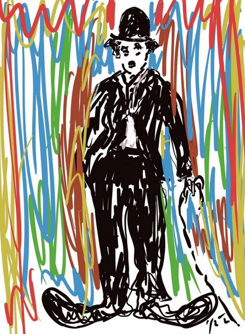 Chaplin por Jaime Clara -delicatessen.uy