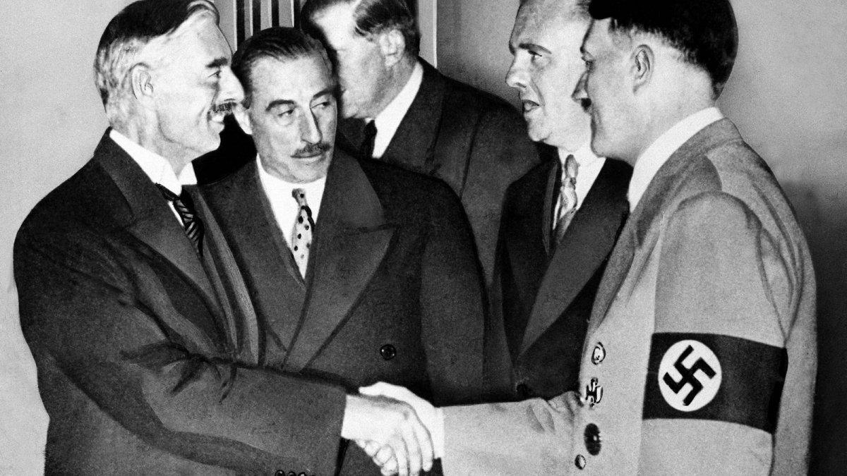 El Acuerdo de Munich: dejando entrar al lobo en el gallinero
