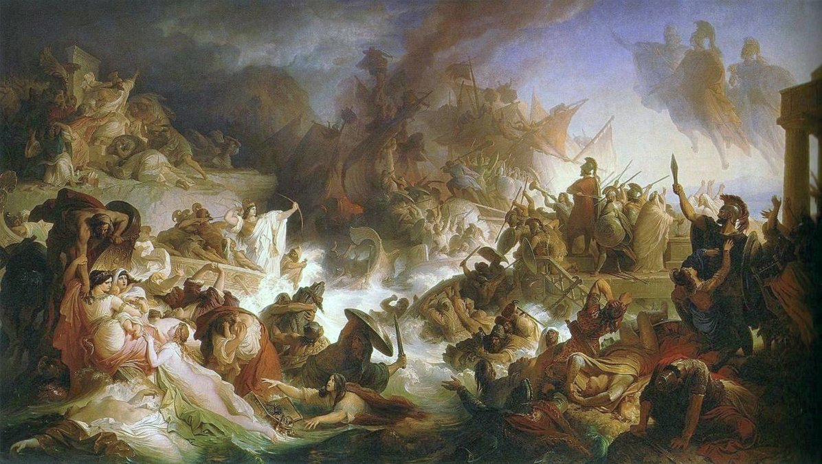 La batalla de Salamina