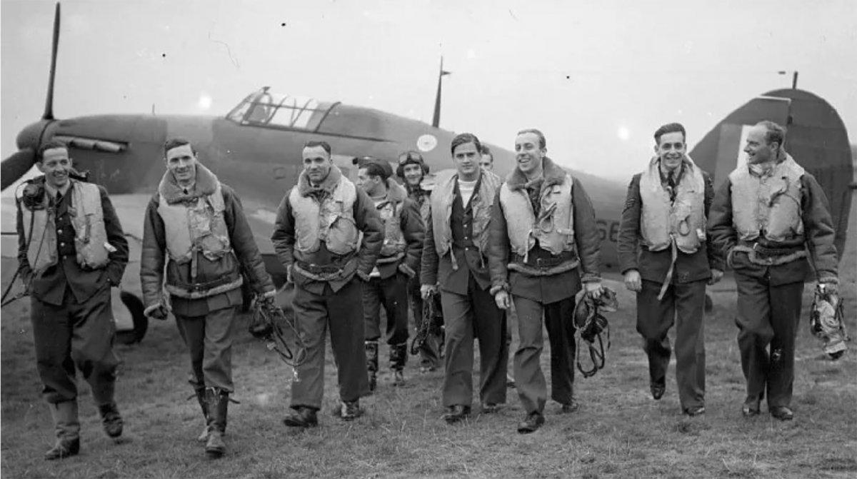 Los pilotos polacos en la batalla de Inglaterra