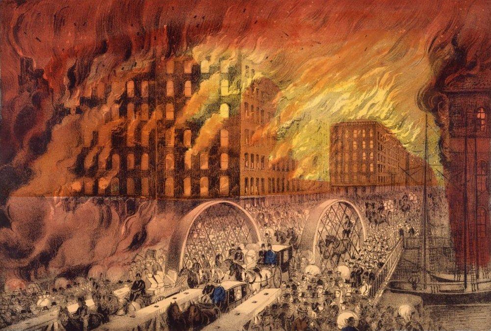 Tras las llamas