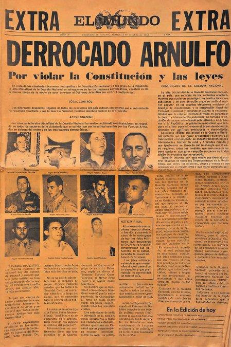 Golpe de Torrijos en Panamá