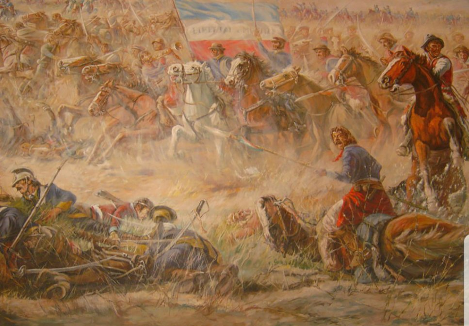 La batalla de Sarandí: el feliz destino con sangre opresora
